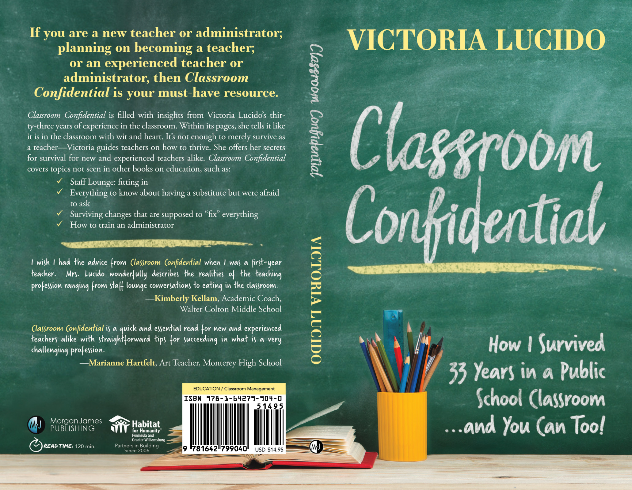 Classroom Confidential by Victoria Lucido